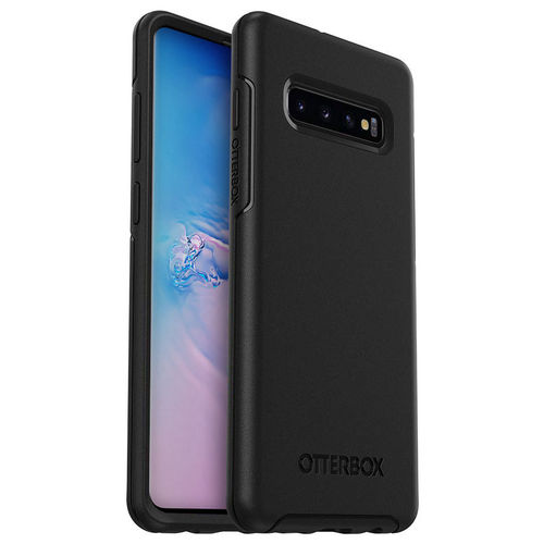 OtterBox Symmetry Shockproof Case for Samsung Galaxy S10+ (Black)